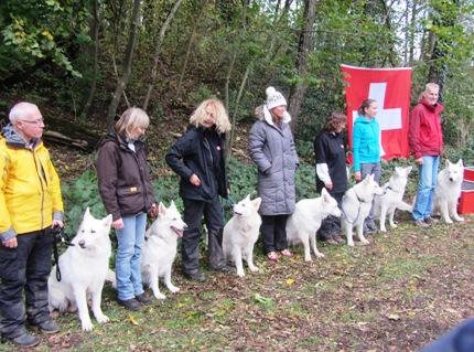 Photo: les participants du CC/CS 2013. Non illustrées: Monika Oehler